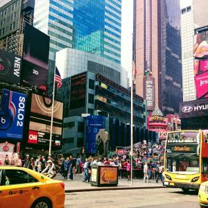 ・アメリカ・実際のタイムズスクエアはどんな感じ?ニューヨーク㉟