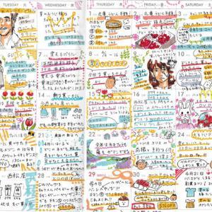 主婦の節約絵日記4月