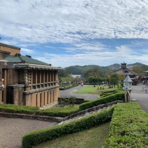 犬山市 明治村① 帝国ホテル中央玄関 と 大明寺聖パウロ教会堂 など