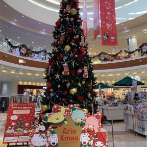 カルディでクリスマス商品半額〜♪ と、アリオ倉敷と三井アウトレット倉敷のクリスマスツリー
