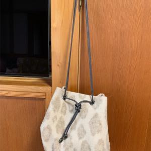 ポワールバッグ作りました。