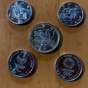 東京オリンピック記念貨幣♪