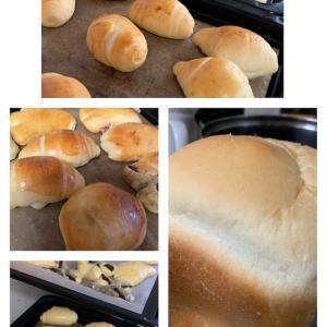 ホームベーカリーでパン♪