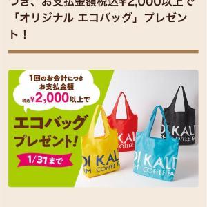 KALDI カルディで2,000円以上購入で、エコバッグ貰えます❣️