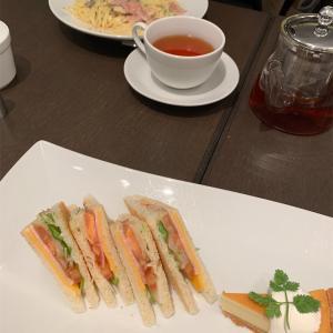 天満屋岡山店 カフェ モロゾフでランチ♪