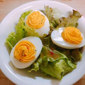 マヨネーズでおいしいサラダ!