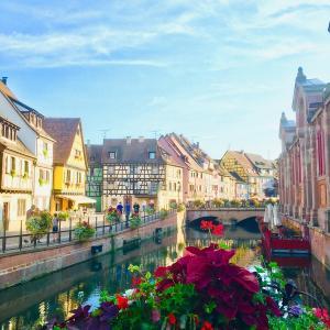 【映画の世界!】フランスの美しき街「コルマール」