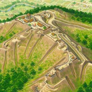 静岡県の丸子城と浜松城。