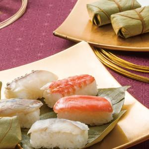 奈良の夏は柿の葉寿司