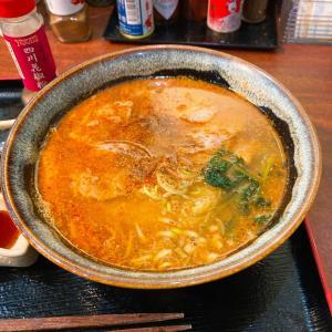 胡麻味噌坦々麺+α