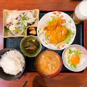 土曜日の昼定食