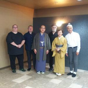 【着物でお出かけ】「LEW TABACKIN LIVE in 浅間神社」