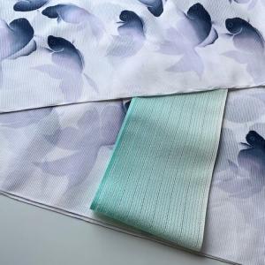 【 商品紹介 】紫織庵の幽玄な世界・黒金魚柄浴衣