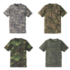自衛隊海外派遣使用・迷彩 Tシャツ 入荷しました