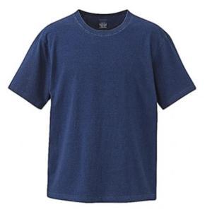 【お詫び】5.3オンスインディゴ染めTシャツ ライトインディゴ 売り切れ