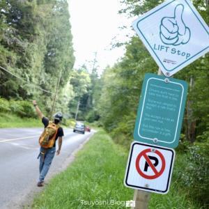 ヒッチハイクの島Bowen Islandでヒッチハイクに挑戦!👍