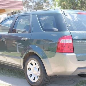 QLDで車を買い替え!快適なワーホリへFord Territory