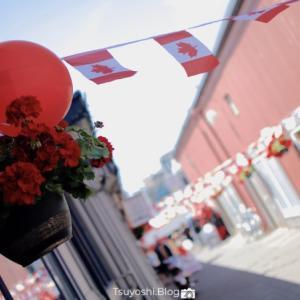 CanadaDay! カナダ君の152歳の誕生日をお祝い!
