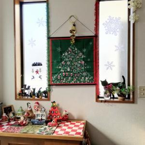 全然盛り上がらぬ気分を鼓舞して何とか漕ぎ着けた、12月、クリスマスの飾り付け・2020
