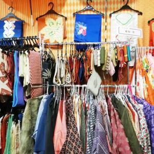 三か月ぶりのサイタマ、リサイクル着物店巡り。