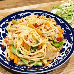 スパゲッティーナポリタンは太る!?【食べ痩せ妊活ご飯】