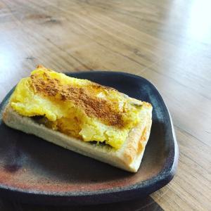 【痩せるおやつ】スイートポテト風トースト!