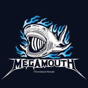 メガマウスザメのデザインTシャツ販売しました!