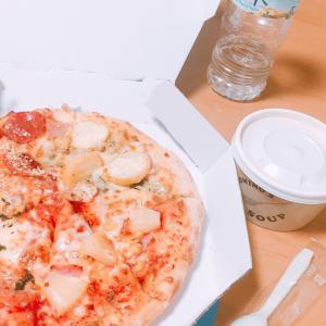 ある1日と初ピザ