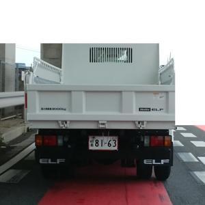 白い、トラックが!/2020-06-09