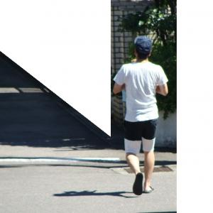 犬の散歩をする209号/2020-09-05