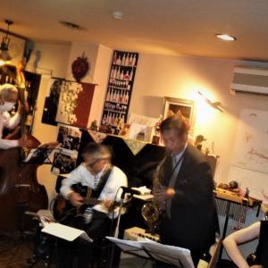 飯塚雅幸が6/25(金)秋田市ワインガーデン「リッシュブール・ワイン&JAZZの夕べ」に出演しました。