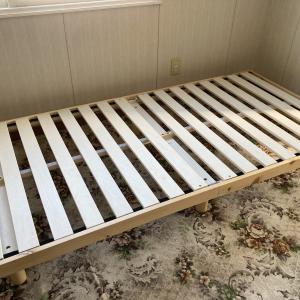 【ニトリ】すのこベッドを購入しました(感想)