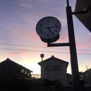 【季節の移り変わりを感じて】夜明け前からのrunning♪♪♪  ~余談を交えつつ写真を挿しつつ日常の一節を記事にします~
