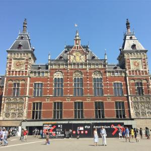オランダ・アムステルダムトランジットで半日観光!