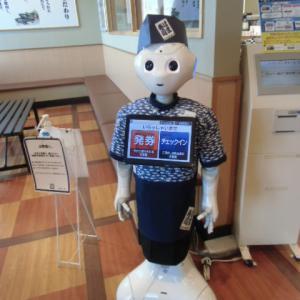 ロボット店員。。。(#^.^#)