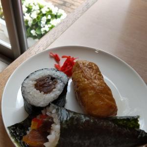 稲荷寿司とのり巻き