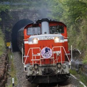 DLやまぐち号 ~トンネル抜けて~ (船平山にて)