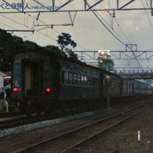 旧客と12系の混結列車(出雲市にて)