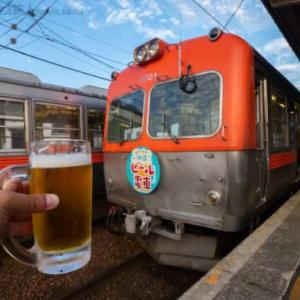 ビール電車(鶴来にて)