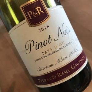 Pierre & Remy Gauthier Pinot Noir 2018