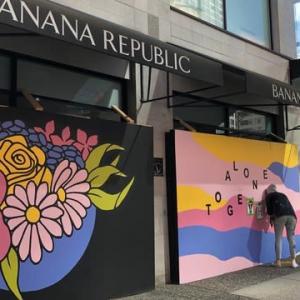 バンクーバー 新しい壁画?