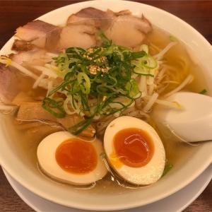 しお味玉ラーメン(かいりきや/西調布)