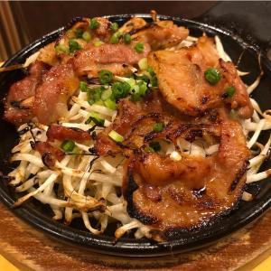 ガストのハッピーアワーで豚肉てんこもやしとコーンのオーブン焼きでひとり呑み(ガスト/国領)