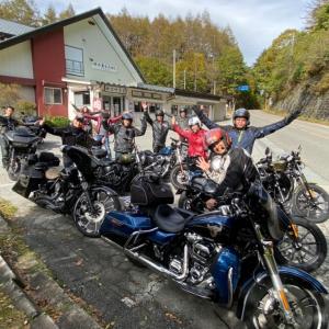 Harley-Davidson 世田谷のセミナーツーリングで奥多摩湖、東山フルーツライン、河口湖を走ってきました!