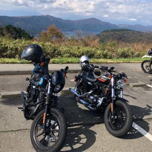 Harley-Davidson Sportster Forty-Eight と IRON 1200 でプチ箱根ツーリングに行ってきました!