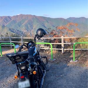 ハーレーダビッドソン SPORTSTER XL1200NS アイアン1200 で御嶽渓谷から奥多摩へ紅葉を観に行ってきた!