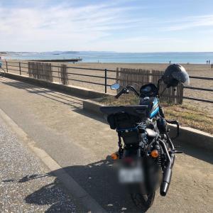 天気が良いので Harley-Davidson アイアン1200 XL1200NS で茅ヶ崎のサザンビーチから鎌倉まで、海岸線を流すプチツーリングをしてきた!