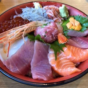 沼津港の「魚河岸 丸天 みなと店」でボリューム満点、にこにこ丼を頂いた! #グルメ #食べ歩き