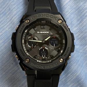 リモートワークは罠がいっぱい、メルカリで新しい G-Shock をポチっちゃいました! #ショッピング #腕時計 #g-shock #g-steel