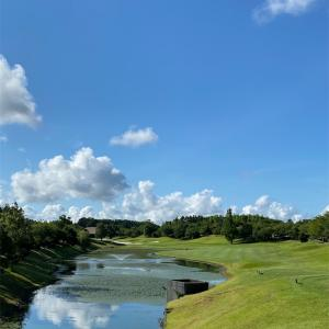 準メンバー化しているアクアラインゴルフクラブで早朝スループレイしてきました! #ゴルフ #ラウンド #スルー #ゴルフ大好き